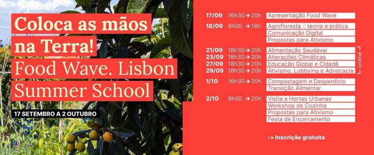 Food Wave – 1ª Lisbon Summer School